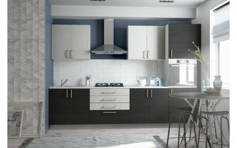 Кухня Оптима из ламинированного ДСП Акация/Гасиенда