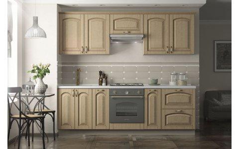 Кухня Ретро-5, Оптима, МДФ + ПВХ с патиной