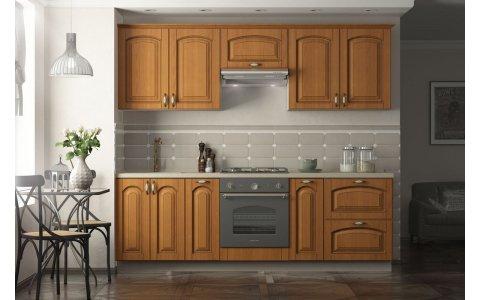 Кухня Ретро-3, Оптима, МДФ + ПВХ с патиной