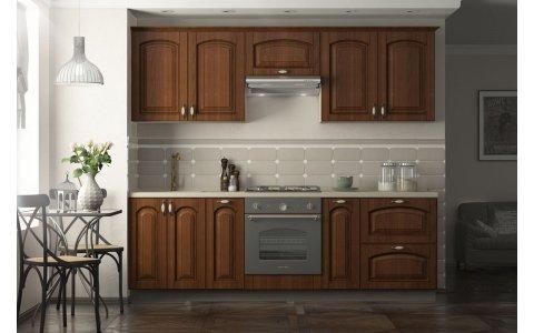 Кухня Ретро-2, Оптима, МДФ+ ПВХ с патиной