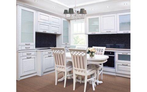 Кухня ЗОВ Глазго фасад белый