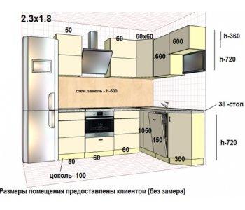 Кухня ЗОВ Акрил Тальк/Графит ШТА111