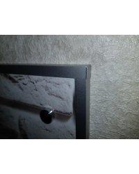 Крепление стеновой панели с помощью декоративной заглушки