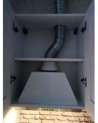 Канал вентиляции в шкафу