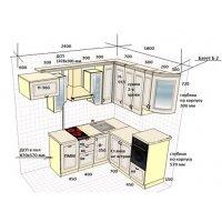 Кухня ЗОВ Массив Черешни 25 тип 18 ШТА434