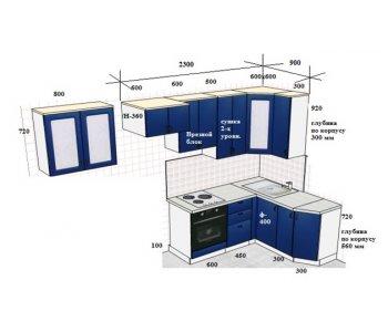 Кухня FIX-оптима Парма ШТА454