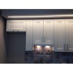 Полка над холодильником высотой 36 см