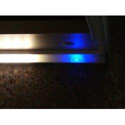 Встроенный в светодиодный профиль диммируемый выключатель