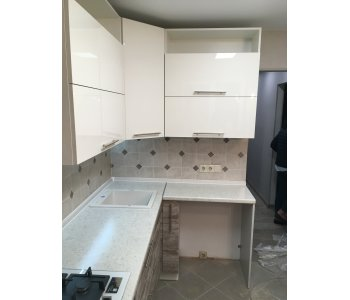 Кухня Alvic Marfil Pearl Effect / Ice crem wood