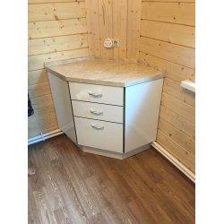 Тумба в одном стиле с кухонным гарнитуром