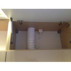Вентиляционная гофра для вывода в вентиляцию