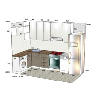 Кухня ЗОВ Система RAL + Система Тик ШТА756