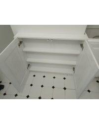 Шкаф глубиной 12 см у короба вентиляции