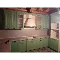 Кухня НЕО Марсель RAL6021 БАЛ818