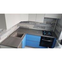 Кухня НЕО Шпон +эмаль БАЛ907