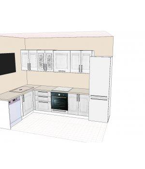 Кухня ЗОВ Марсель 4 ПП Дижон