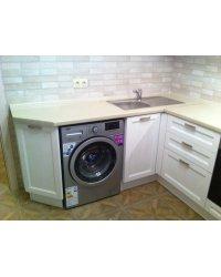 Отдельностоящая стиральная машина с установкой под столешницу