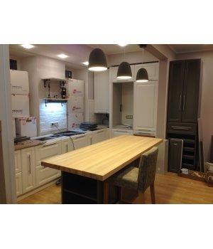 Кухня ЗОВ Париж RAL9016 / RAL7037
