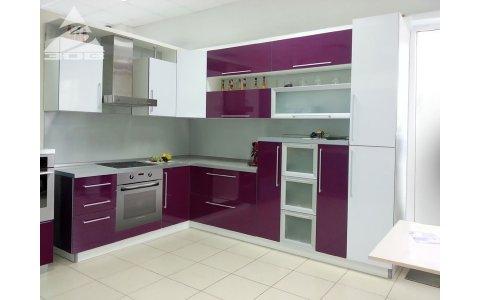Кухня ЗОВ Фиалка/Снежный